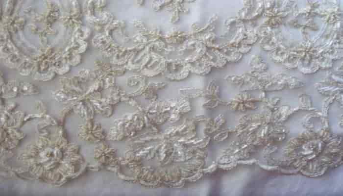 tipos de telas para vestidos de novia en las bodas