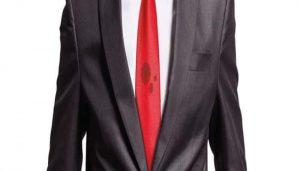 como limpiar las manchas de la corbata