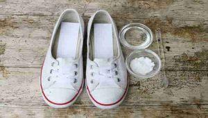 como limpiar zapatillas