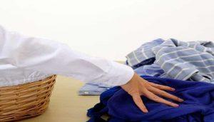 como separa la ropa en la lavadora