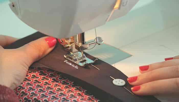 tipos de dobladillo para coser a máquina