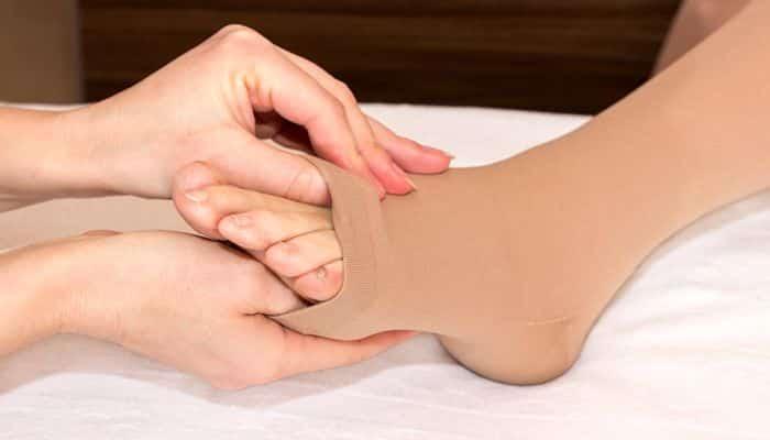 tipos de calcetines de compresión
