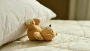 colchón desinfectado