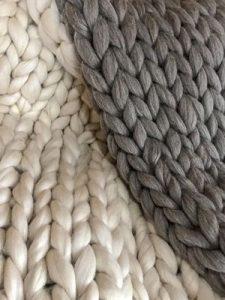 bufanda de vellon